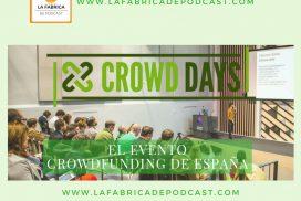 Crowddays. El mayor evento de Crowdfunding de España.