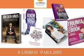 6 libros recomendados para 2017